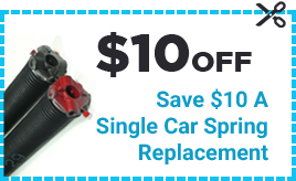 Coupon $10 Off - Save $10 A Single Car Spring Replacement